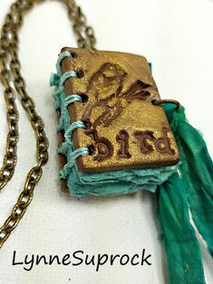Tiny Sculpted journal books on Make It Artsy