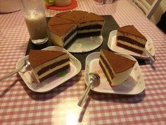 提拉米苏(巧克力海绵蛋糕版)的做法