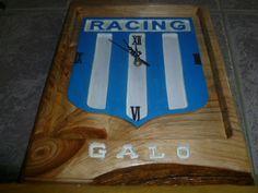Escudo Club Racing, en radiata