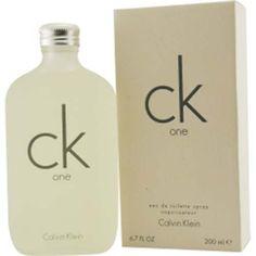 Description CK One Eau De Toilette Spray oz - A classic and popular fragrance for men with fragrance notes of papaya, pineapple, jasmine, green tea and amber. Ck One Calvin Klein, Light Blue Perfume, Best Fragrances, Fragrance Parfum, Perfume Oils, Sprays, Vodka Bottle, Unisex, Jasmine