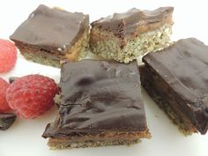 Chocolate Nut Butter Bars