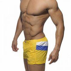 fashion shorts for men panelled low waist solid shorts men regular patchwork pockets mayor short 4 colors 5P0644