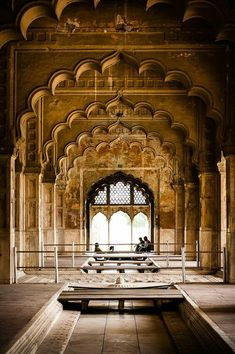 Khas Mahal, Delhi, India - 'Khas Mahal' inside the Red Fort in Delhi Architecture Antique, India Architecture, Architecture Design, Design Architect, Architecture Colleges, Computer Architecture, Architecture Wallpaper, Islamic Architecture, Temples