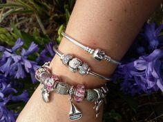Pandora bangle and moments love 😍