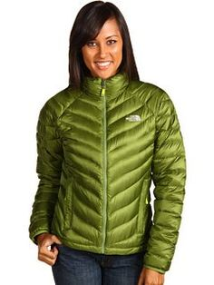 The North Face Thunder Down Jacket - Women's, Olivetto Green, L