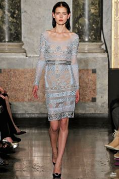 Emilio Pucci 2012/2013  pastel lace