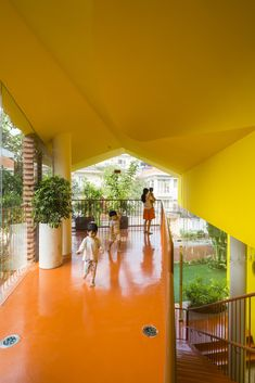 Gallery of Chuon Chuon Kim 2 Kindergarten / KIENTRUC O - 5