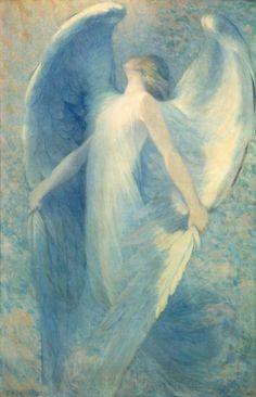 William Baxter Closson, The Angel. Smithsonian American Art Museum, Washington Date: c. 1912
