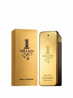 1 Million For Men By Paco Rabanne Eau De Toilette Spray One Million Paco, One Million Perfume, 1 Million For Men, Paco Rabanne Men, Perfume Hermes, Perfume Versace, Shopping, American Frontier, Lotions