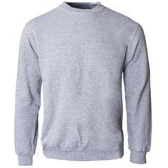 Crew Neck Sweatshirt - Grey