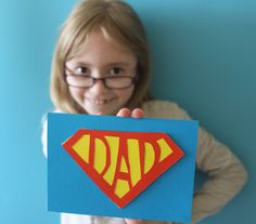 How to make a super dad card: Fathers day craft — Sew Kidding Nursery Class Activities, Bold Colors, Colours, Super Dad, Fathers Day Crafts, Sewing Crafts, Dads, How Are You Feeling, Templates