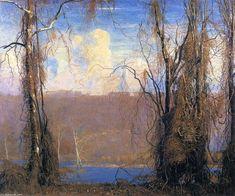 Wilderness de Daniel Garber (1880-1958, United States)