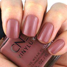 Fuji Love Shellac Nails Fall, Cnd Shellac Colors, Pink Gel Nails, Cnd Nails, Nail Polish Colors, Cnd Colours, Fall Nail Colors, November Nails, Cnd Vinylux