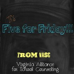 "Jump Start your weekend with these interesting articles, educational links and resources we've been ""pinning."" Follow 'VASC School Counselor..."
