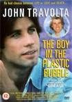 the boy in the plastic bubble-1976   fact-based teleplay casts Travolta as Tod Lubitsch, a teenager who was born without disease immunities. He is forced to live out his life in incubator conditions; whenever he vetnures into the outdoors, he must be encased in a huge plastic bubble.