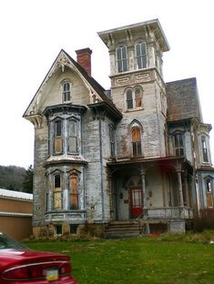 What cool house. If only someone would flip it. Gothic
