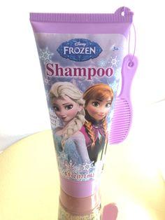 Frozen w/ Anna and Elsa Disney Shampoo Winter Berry Free Mini Comb Included #MZBAcessories