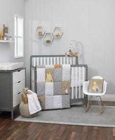 Pooh Baby, Winnie The Pooh Nursery, Disney Nursery, Disney Baby Bedding, Baby Baby, Nursery Themes, Nursery Room, Girl Nursery, Nursery Ideas