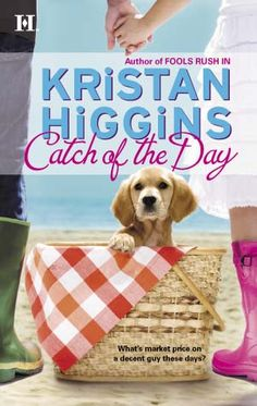 The original cover. To read an excerpt, visit http://www.kristanhiggins.com/KH-Catch-of-the-Day.html