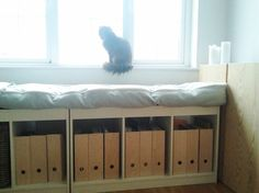Molger Bench From Ikea Window Storage And Landing Strip