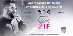 ‪#‎Sukumar‬'s movie: ‪#‎JrNTR‬ to launch the teaser on October 2nd!