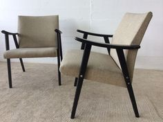 2 Midcentury Easy chairs Sessel Asko schöner Originalzustand Armchair in Antiquitäten & Kunst, Design & Stil, 1950-1959 | eBay