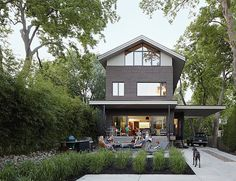 Drawing on family lore and the vernacular of a venerable neighborhood, an architect creates a comfortable, adaptable home for his family.