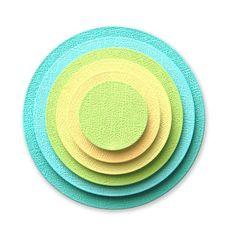 Umbrella Crafts - Decorative Die Set - Nested Circles