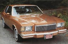 Its a 1978 Chevy Monte Carlo