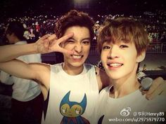 (Super Junior M) Henry & (Exo-K) Chanyeol