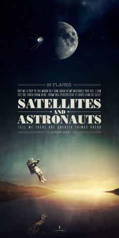 SATELLITES AND ASTRONAUTS