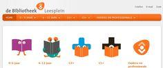 www.leesplein.be/  Kinder- en jeugdboeken-site van het NBLC(De Nederlandse bibliotheken), voorlezen en links.