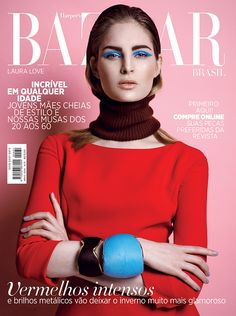 visual optimism; fashion editorials, shows, campaigns & more!: the look of love: laura love by thanassis krikis for harper's bazaar brazil m...