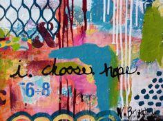 I choose hope. @Wendy Brightbill on Etsy