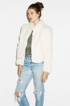 fur / bf jeans
