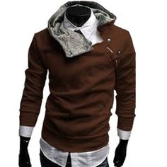 Men's Winter Sweatershirts Jacket Coat Rabbit Fur Collar W03 (L (US Small), Brown) FACE N FACE,http://www.amazon.com/dp/B00BZP1OLI/ref=cm_sw_r_pi_dp_BG3mtb1W2VJVB043