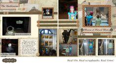 The Inky Scrapper: Washington DC Trip Layouts: 4-6 (Smithsonians & Arlington)