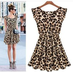 #animalprint casual, sencillo y bonito...♡