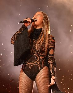 Beyoncé performs onstage during the 2016 BET Awards on June 26, 2016.