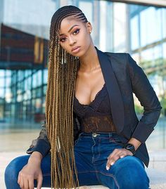 Welcome to the topic of african american hairstyles for women. Our topic is the magnificent black hair women's hairstyles. Cornrows Braids For Black Women, Black Girl Braids, Braided Hairstyles For Black Women, Side Cornrows Braids, Long Cornrows, Kid Braids, Senegalese Twists, Braids Hairstyles Pictures, African Braids Hairstyles
