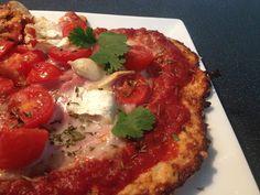 Cuisine Ma-Ligne!: Pizza ''Spéciale'' super light ww Chèvre, tomates et thym 7pp