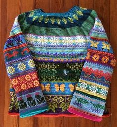 Knitting Patterns Wear Ravelry: Project Gallery for Whiteleaf pattern by Wool + Bricks Fair Isle Knitting Patterns, Fair Isle Pattern, Knitting Charts, Knitting Designs, Knit Patterns, Free Knitting, Knitting Projects, Baby Knitting, Knitting Stitches