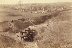 Native American Encampment - Lakota Indians
