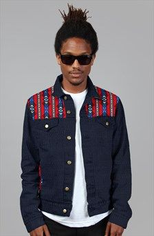 Apliiq.com presents the Bull Wear Patch Work Jean Jacket denim jacket $135.00