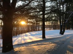 Sunrise at Amigo Centre near Sturgis, MI
