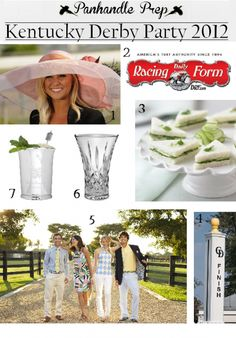 derby party ideas
