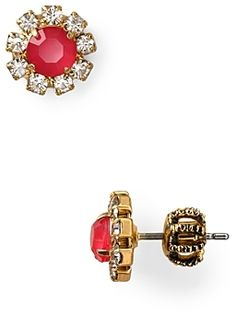 Juicy Couture Sparkling Starboard Cer Stud Earrings On Style Co Uk