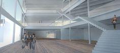 atrium stairs communal - Google Search