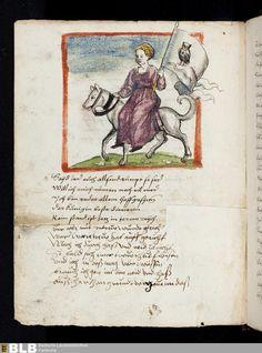 310 [113v] - Frau Untreue - Seite - Handschriften - BLB Karlsruhe