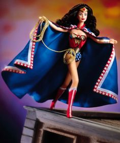 Barbie as Wonder Woman